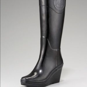 Hunter crest wedge boot